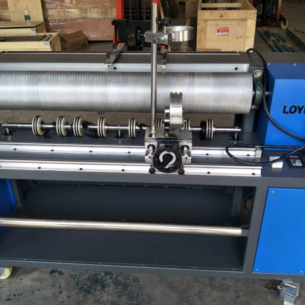 Belt guide machine for 1m wide PVC PU belt strip welding