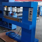Splice press machine for PTFE belt