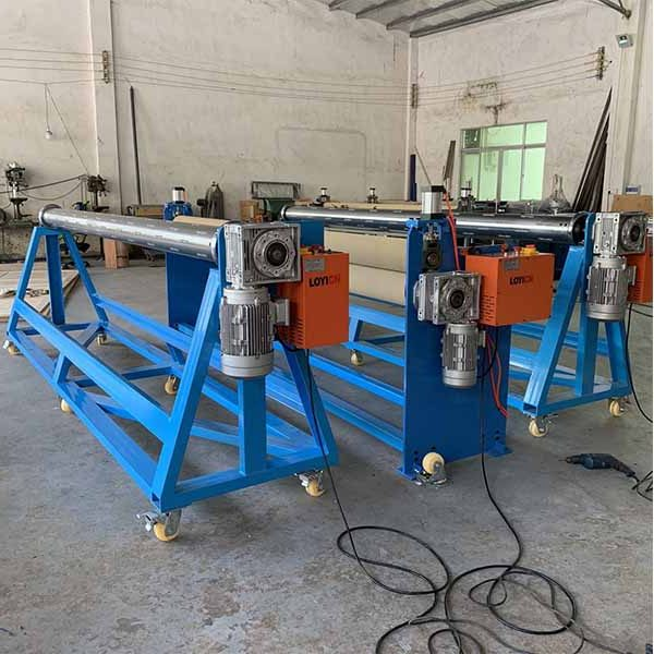 Economic Conveyor Belt Slitter with Winder and Rewinder