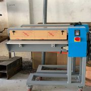 Slitter for endless belt and open belt